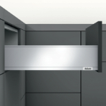 Legrabox Frontauszug K Bausatz Länge/Tiefe 300 mm | seidenweiß | zum Schrauben