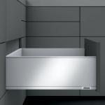 Legrabox pure Frontauszug C Bausatz Länge/Tiefe 270 mm | seidenweiß | zum Schrauben