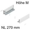 770M2702S Legrabox Zarge M (90,3 mm), seidenweiß LBX Zarge pure M - 270 mm, SW-M