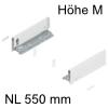 770M5502S Legrabox Zarge M (90,3 mm), seidenweiß LBX Zarge pure M - 550 mm, SW-M