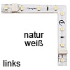 90°-Winkel FLEXYLED CR, natur weiß - links FlexyLED Ecke, 50x50mm (6 Leds) - natur / li.