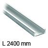 Linearführung 2400 mm Aluminium ungelocht Accuride DA0116-0240RC Schiene 2400/65/23