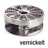 MAXIFIX 35 Verbinder ab 19 mm Zinkdruckg. vernickelt Innensechskant Gehäuse Maxifix 35 / Zi. vernickelt SW6