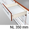 METABOX Teilauszug K, H 118 mm, NL 350-550 mm 320K3500C Teilauszug, NL 350 mm