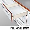 METABOX Teilauszug K, H 118 mm, NL 350-550 mm 320K4500C Teilauszug, NL 450 mm