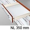 METABOX Teilauszug M, H 86 mm, NL 270-550 mm 320M3500C Teilauszug, NL 350 mm