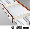 METABOX Teilauszug M, H 86 mm, NL 270-550 mm 320M4500C Teilauszug, NL 450 mm