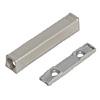 TIP-ON 956A1201 Adapterplatte gerade 20/32 mm, nickel Adapterpl. Tip On Tür lang - NI-L