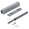 TIP-ON 956A1004 Set für Tür lang + Platte, grau Tip On Tür lang 10x76 + Adapterpl. 20/32, R736