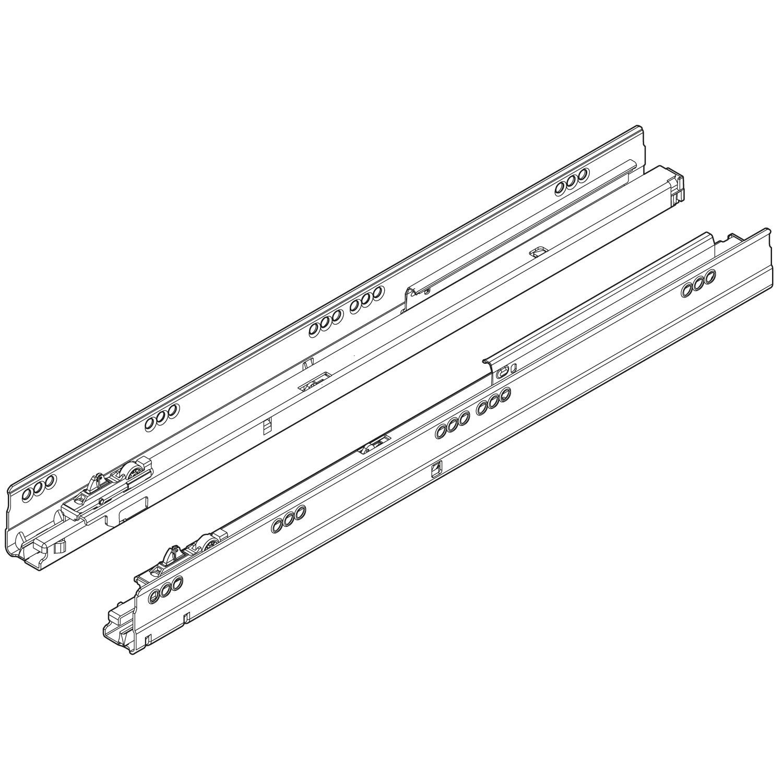 Cool 578.5001M Tandembox Korpusschiene für Tip-On Blumotion im LIGNO  VW73